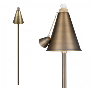 Светильник для дорожек с горелкой APT TIKI Torch Hat