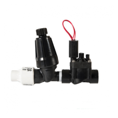 "Пусковой комплект капельного полива Hunter PCZ-101-40B клапан PGV 1""ВР + фильтр 3/4"", 2.8 бар"