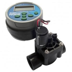 Контроллер беспроводной NODE-100-VALVE-B на 1 зону с электромагитным клапаном PGV-101-G-B HUNTER